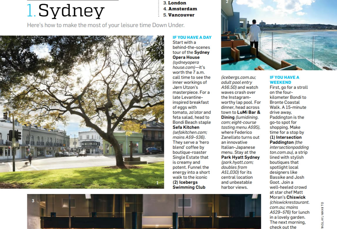 Travel Leisure Magazine Nov  P