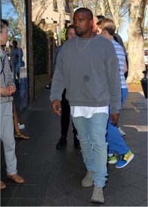 Kayne West shopping at The Intersection