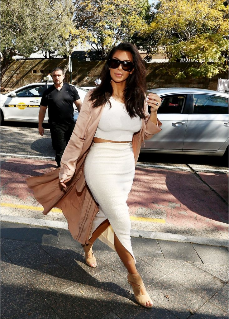Kim Kardashian West shopping for Australian Designers at The Intersection