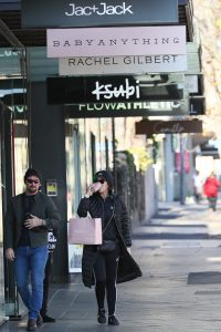 Katy Perry shopping for Australian Designers at The Intersection